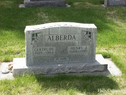 Gertrude <i>VanderBurg</i> Alberda