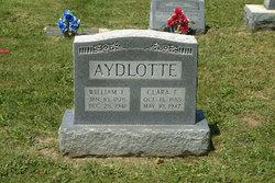 Clara F. <i>Staples</i> Aydlotte