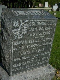 Sarah Belle <i>Puterbaugh</i> Lohr