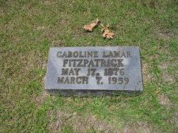 Carolyn <i>Lamar</i> Fitzpatrick