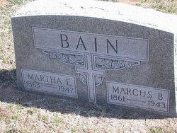 Martha Elvira <i>Gregg</i> Bain