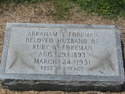 Abraham I Foreman