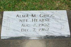 Alma M. <i>Hearne</i> Grigg
