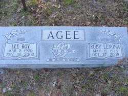 PFC Lee Roy Agee