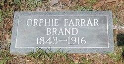 Orphie <i>Farrar</i> Brand