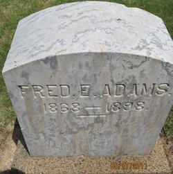 Frederick E. Fred Adams