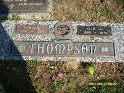 Pearl Jane <i>Lee</i> Thompson