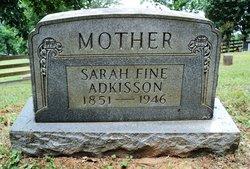 Sarah <i>Fine</i> Adkisson
