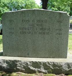 Harriett F <i>McDuffee</i> Morse