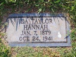 Ida Florence <i>Taylor</i> Hannah