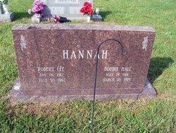 Bobbie <i>Hall</i> Hannah