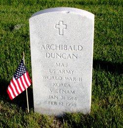 Archibald Duncan