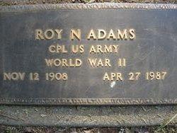 Roy Nathaniel Adams