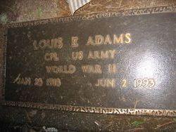 Louis E Adams