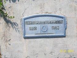 Jane Marie Johnson
