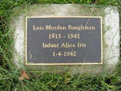 Lois H <i>Morden</i> Baughman