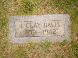 Henry Clay Balis, II