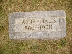 Hattie A. <i>Ketcham</i> Balis