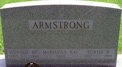 Howard McConahey Armstrong