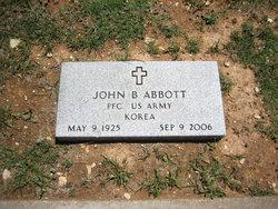 PFC John B. Abbott