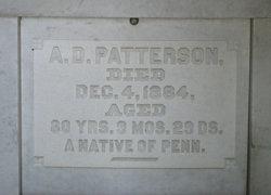 A. D. Patterson