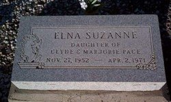 Elna Suzanne Sue Pace