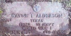 Wayne I Alderson