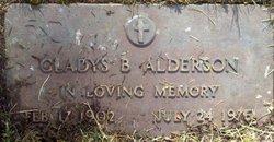 Gladys B Alderson