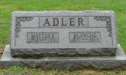 Blanche <i>Goldsmith</i> Adler