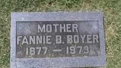 Fannie B. <i>Naill</i> Boyer