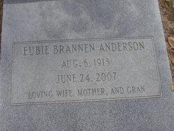 Eubie <i>Brannen</i> Anderson