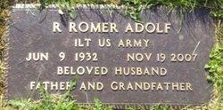R Romer Adolf