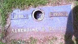 Albertine Bertha <i>Feldt</i> Baxter