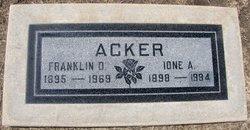 Franklin DeEster Acker