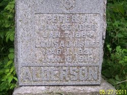 Louisa Jane <i>Dye</i> Alderson