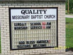 Quality Baptist Church Cemetery