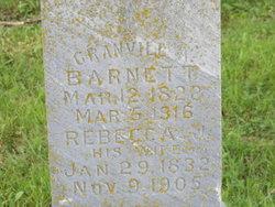 Granvill A. Barnett