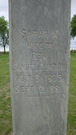 Sarah M. <i>Carpenter</i> Dunton