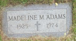Madeline M Adams