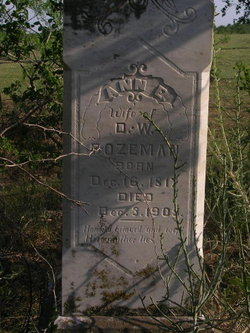 Ann English Annie <i>Browning</i> Bozeman