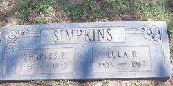 Lula Belle <i>Atkins</i> Simpkins