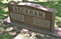 Marie Elizabeth <i>Hancock</i> Beckham