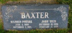 Mildred Elmira <i>Powers</i> Baxter