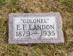 Edmund Franklin Landon