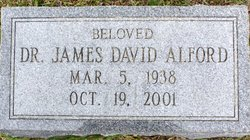 Dr James David Alford