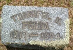 Thankful <i>Higby</i> Fonda