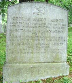 Ann Taylor Gilman <i>Emery</i> Abbot