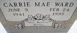 Carrie Mae <i>Davis</i> Ward