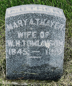 Mary Adelaide <i>Thayer</i> Tomlinson