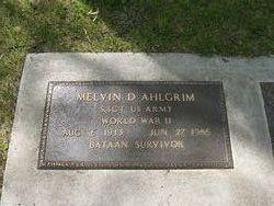 Melvin Donald Ahlgrim